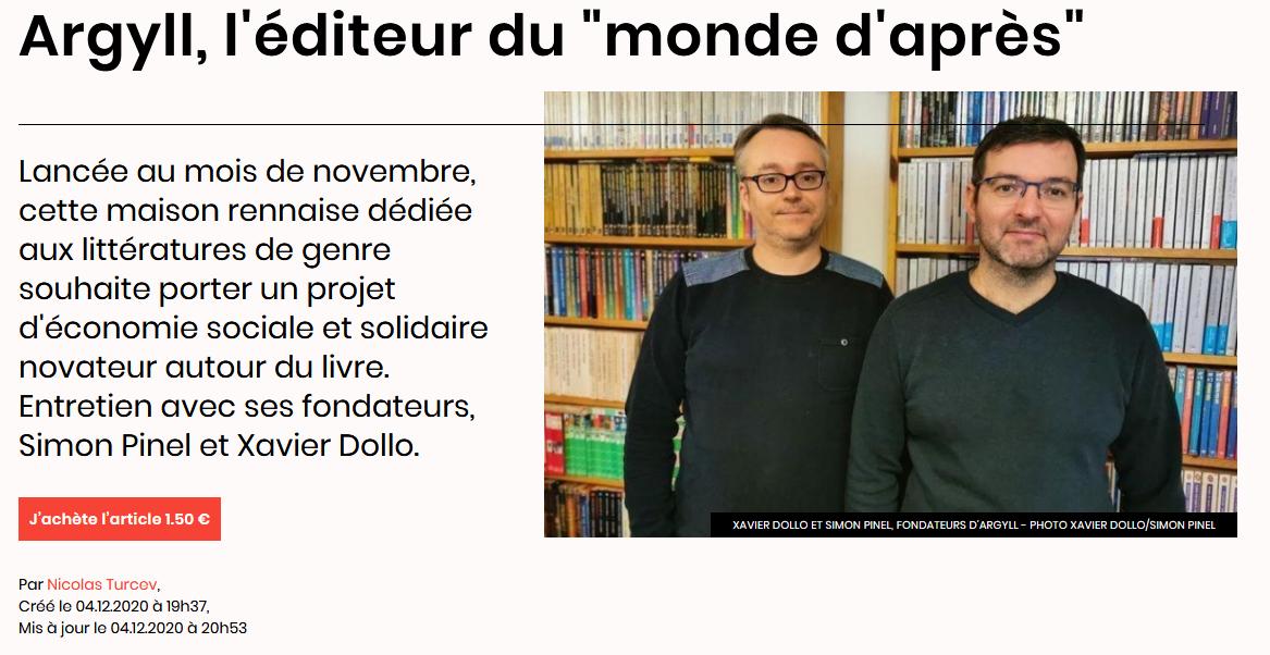 revue de presse Livres Hebdo
